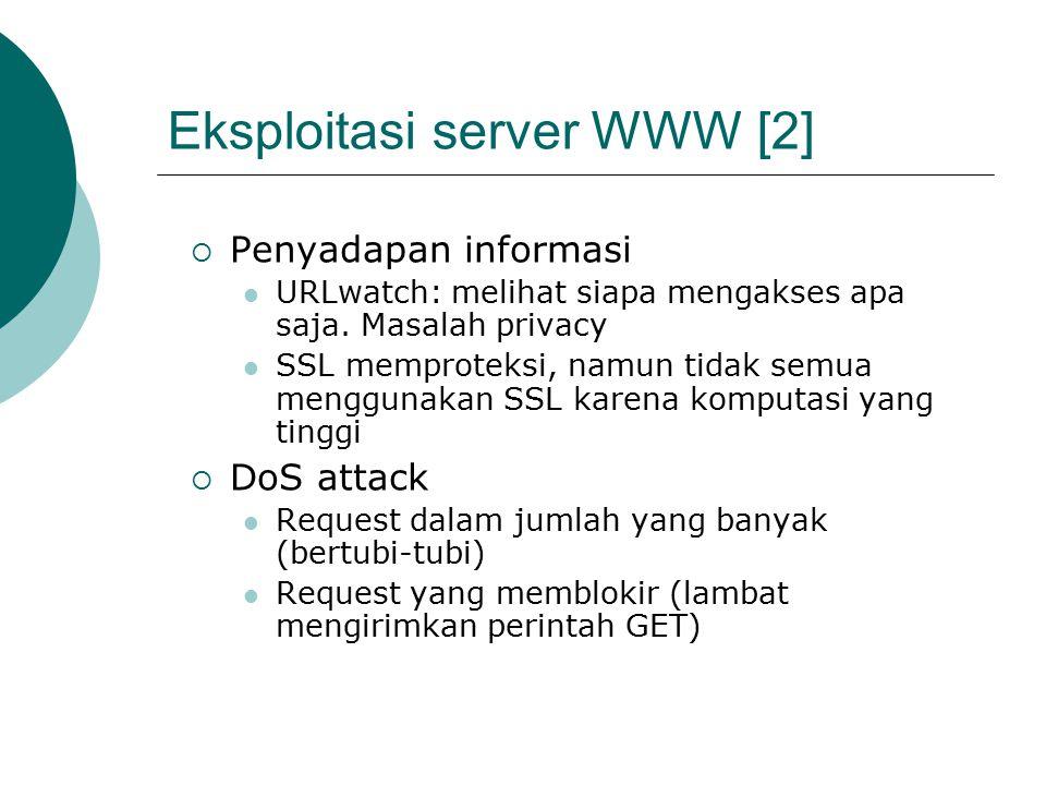 Eksploitasi server WWW [2]